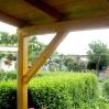 Vordachkonstruktion 1